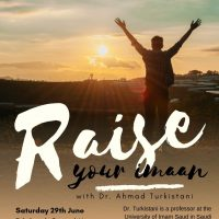 Raise Your Imaan with Dr Turkistani