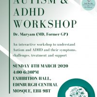 Autism and ADHD Workshop by Dr Maryam