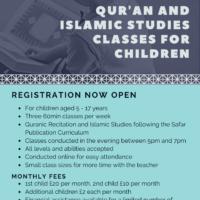 Online Quran and Islamic Studies Classes for Children