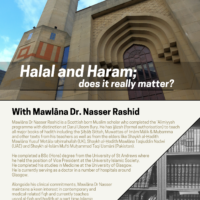 Lecture: Halal and Haram, does it really matter?