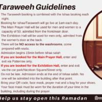 Taraweeh Guidelines