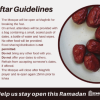 Iftar Guidelines