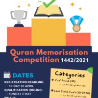Edinburgh's Annual Ramadan Quran Competition 1442/2021